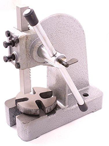 HHIP 8600-0032 Heavy Duty Arbor Press, 1 Ton Capacity, 13' Height (Pack of 1)