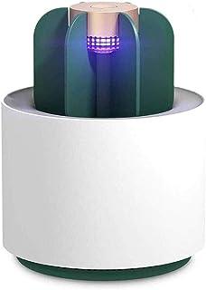 Control Insectos Pequeño Lámpara Matamoscas Electrico Luz UV Lámpara Repelente Zapper de Mosquitos Mosca Carga USB Trampas para Insectos Mosquito Killer para Mata Producto Aire Libre