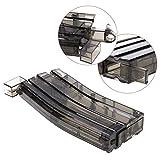 NO LOGO L-Yune, Neuer Airsoft Paintball Kunststoff 400rd BB Speedloader Bunte Speedloader Tactical Military BB Box War Game Gun Hunting Zubehör