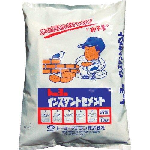 MATERAN(マテラン) インスタントセメント 灰 10kg NO5162