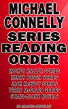 MICHAEL CONNELLY: SERIES READING ORDER: MY...