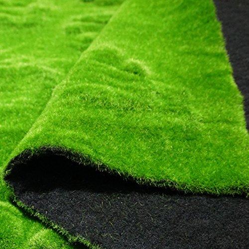 WENZHE Artificiel Lierre Plantes Feuille Vigne Suspendue Feuilles Mural Simulation Éponge Mousse Vert Moquette Intérieur Extérieur Pelouse, 1 X 1 M (Taille : 3 Pieces)