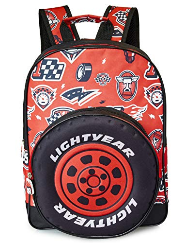 Disney Cars Backpack | Lighting McQueen Backpack with Detachable Pencil Case for Boys, Toddlers | Official Cars Back Bag | Perfect Childrens School Bag, Kids Rucksack | Travel Bag