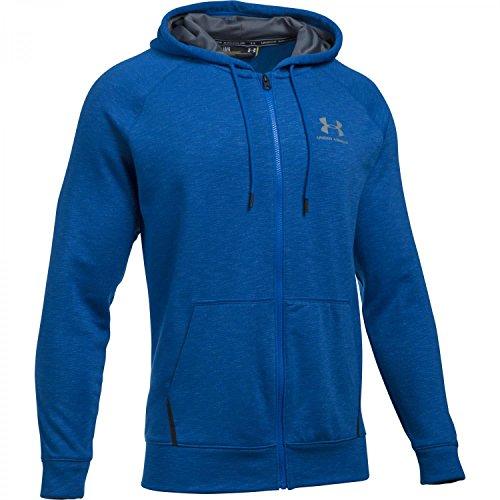 Under Armour Herren ColdGear Sportstyle Trainingskapuzenjacke, blau, S