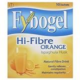 Fybogel Natural Hi-Fibre Orange Fibre Drink Sachet - Pack of 10 3.5 g