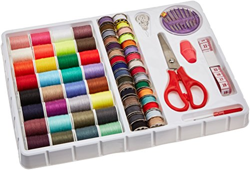 MICHLEY FS092 Lil 100-Piece Sewing Kit, 1.00 x 8.00 x 9.80 inches, Multi