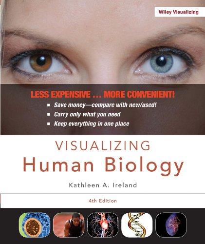 Download Visualizing Human Biology, Binder Ready Version (Visualizing Series) 1118226763
