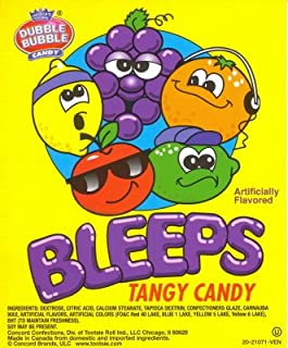 BLEEPS Tangy Candy (1 pound bag)