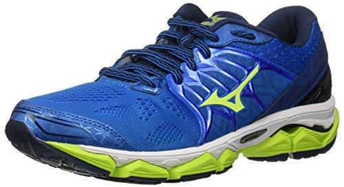 Mizuno Running Men's Wave Horizon Running Shoes, Directoire Blue/Safey...
