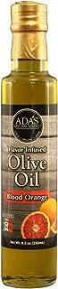 ADA'S Natural Market Blood Orange Infused Extra Virgin Olive Oil – 8.5OZ