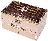 Carillon Ballet Caja de música Caja de música Caja de Almacenamiento de joyería con Dedo Giratorio Best Regalo para niñas Cajas Musicales Baifantastic