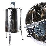 Extractor de miel de 120 W, centrifugadora eléctrica de miel, de acero inoxidable, para apicultores de miel y de acero inoxidable