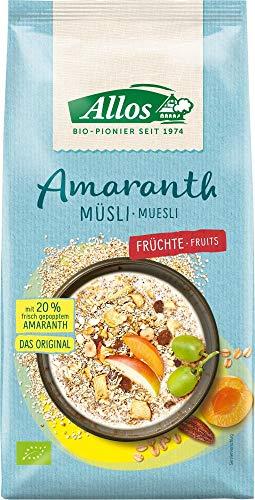 Allos Bio Amaranth Früchte Müsli (2 x 1,50 kg)