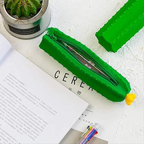 GenericBrands 1 Pcs Kawaii Pencil Case Cactus Silicone Gift School Pencil...