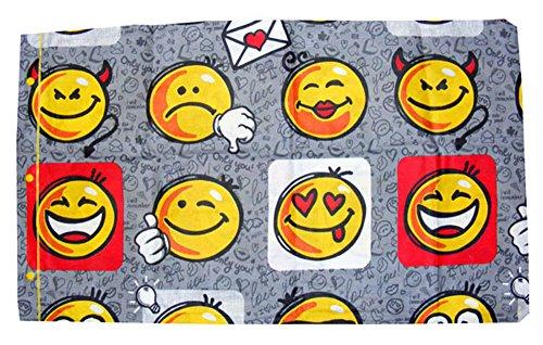 Quadrifoglio Coppia FEDERE Cuscino Cotone Smile
