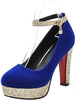 RAZAMAZA Woman High Heel Court Shoes Closed Toe Pumps