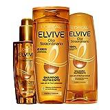 L'Oréal Paris Routine Capelli Olio Straordinario, Box con Shampoo Nutriente, Balsamo Nutr...
