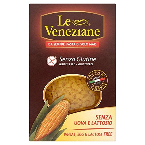 Le Veneziane Gluten Free Ditalini Little Pasta - 250g (0.55lbs)