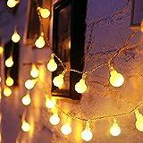 Catena Luminosa, YINUO LIGHT 10M 100Led Luci Da Esterno E Interno Con, Globo di luci di Natale, 8 Modalità Flash. Per Giardino, Casa, Feste, Natale, Matrimonio, Decorazioni…