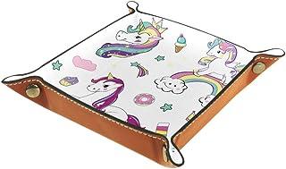 Desheze Licorne Arc-en-Ciel (6) Boîte de Rangement Pliable Stockage Boîte Maquillage Bijoux Jouets Papeterie Organisateur ...