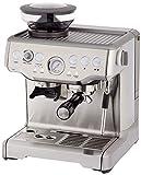programmierbare Espressomaschine mit integriertem Kegelmahlwerk 18 Mahlgradeinstellungen und Kaffeepulvermenge individuell einstellbar programmierbare Espressomaschine mit integriertem Kegelmahlwerk 18 Mahlgradeinstellungen und Kaffeepulvermenge indi...
