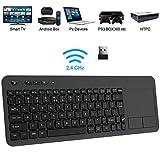Wireless Keyboard, TedGem 2.4G Wireless Keyboard with Touchpad Keyboard Wireless...