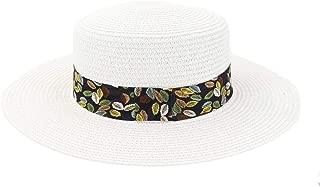 LiWen Zheng Spring Summer Straw Sun Hat Beach Travel Tourism Beach Hat Sun Visor New Women Color Leaf Printing Flat Cap