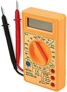 Digital Voltmeter Ampmeter Multimeter Meter OHM s Tester Checker inc Leads