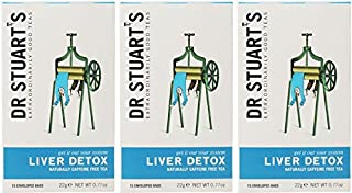 (3 PACK) - Dr Stuarts - Liver Detox Herbal Tea | 15 Bag | 3 PACK BUNDLE