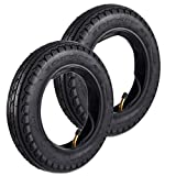 Wingsmotor 10 x 2.125 10' Tyre Non-Slip Tire + Tube for Smart Self Balancing 2-Wheel Scooter 10 Inch Unicycle Pack of 2 Sets