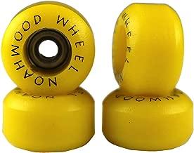 NOAHWOOD Fingerboards PRO Wheels(PRO Bearing 4Pcs/Set) (Yellow, II)