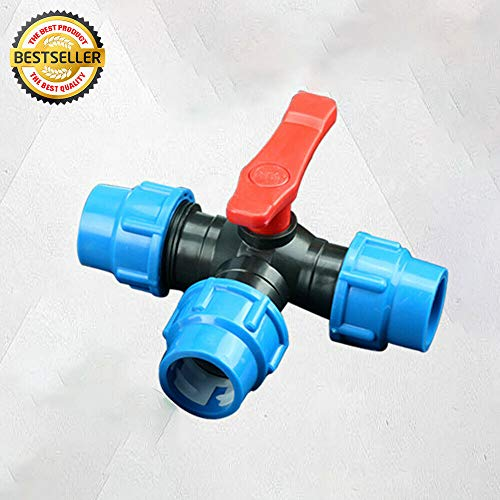 T-Verbinder 3-Wege-Adapter für Schlauch PPR/PE/PVC, schnelle Wasserleitung, Ventil-Anschluss, für grüne Räume, Gartenarbeit, Gartenproduktion