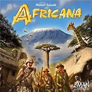 Z-Man Games Africana Game