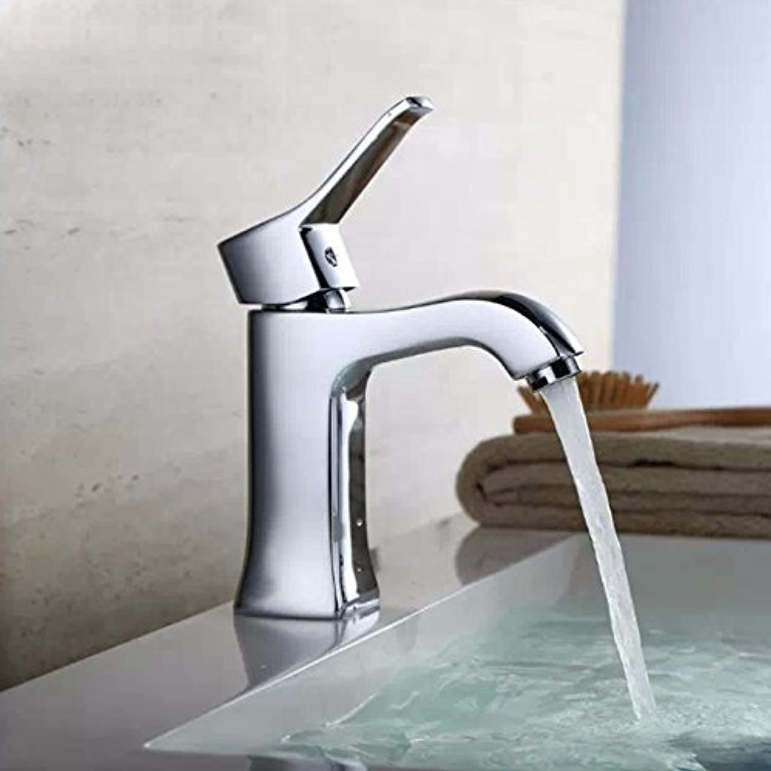 Hlluya Professional Sink Mixer Tap Kitchen Faucet Basin taps square mixing valve water basin