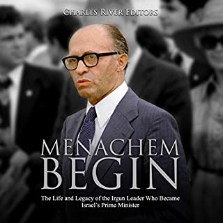 Menachem Begin audiobook cover art