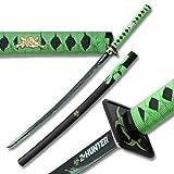 Z Hunter ZB-026 Samurai Sword, Green, 41-Inch Overall