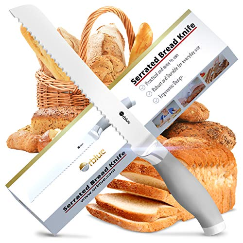 Ultra-Sharp Stainless Steel Professional Grade Bread Cutter