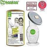 Haakaa Extractor de leche de Silicona, Gen 2 Extractor de leche manual y...