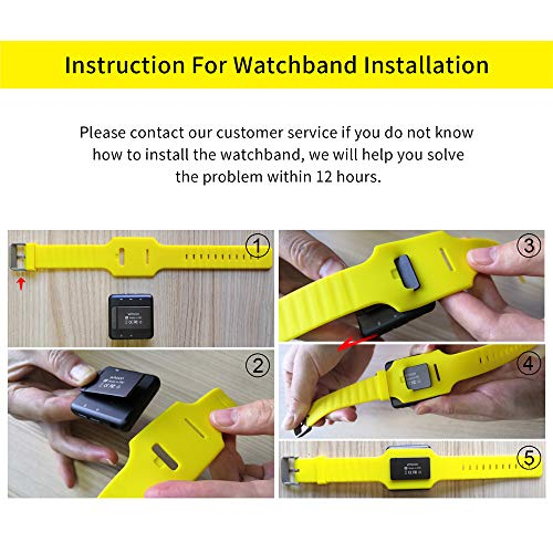 16GB Clip MP3 Player with Bluetooth 4.0,Portable Music Player with Watch Strap for Running (Pedometer, FM Radio,Voice Recorder, Time Display )- 2 Watch Bands