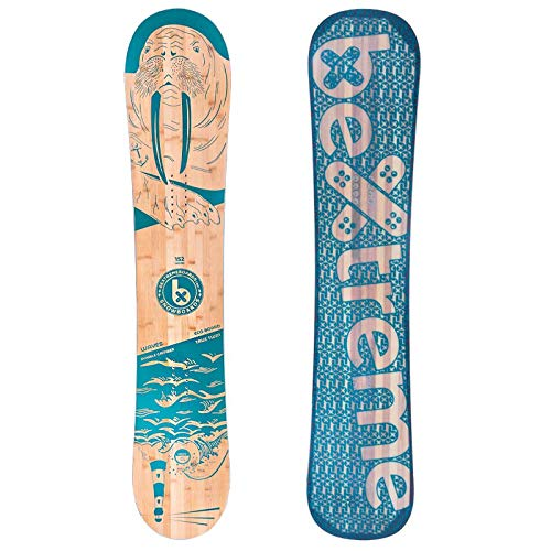 Bextreme Freestyle e Freeride Waves 2020 - Tavola da snowboard con attacchi SP Private