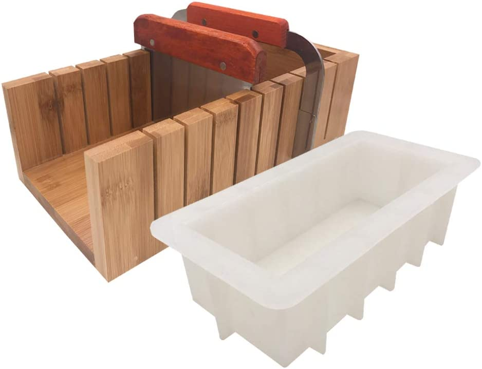 ESA Supplies Large Purchase Size Wooden Soap Loaf and Special price for a limited time Cutter Cu Mold