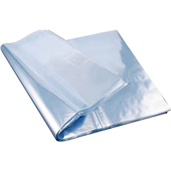 Multi-size Transparent Shrink Wrap Film Heat Seal Bag Gift Pack of 100