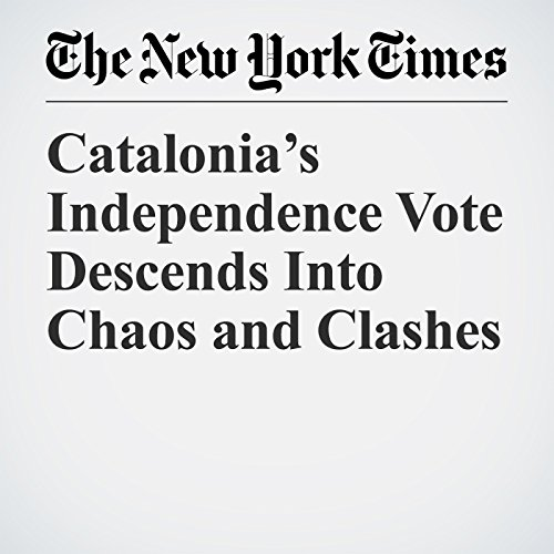 Catalonia's Independence Vote Descends Into Chaos and Clashes copertina