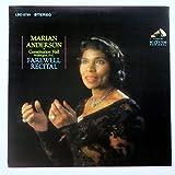 Marian Anderson at Constitution Hall, Washington D.C.: Farewell Recital