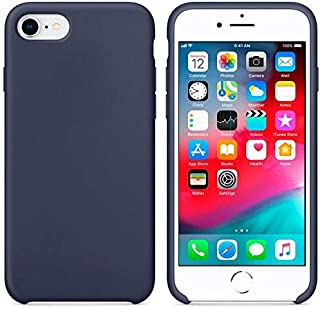 Silicone case for Apple iPhone 8/7 - Blue Cobalt