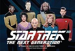 Star Trek: The Next Generation 365 by [Paula M. Block, Terry J. Erdmann, Ronald D. Moore]