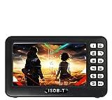 Mini Tv Digital Portatil Recarregavel Com Radio Micro Sd Usb (888124)