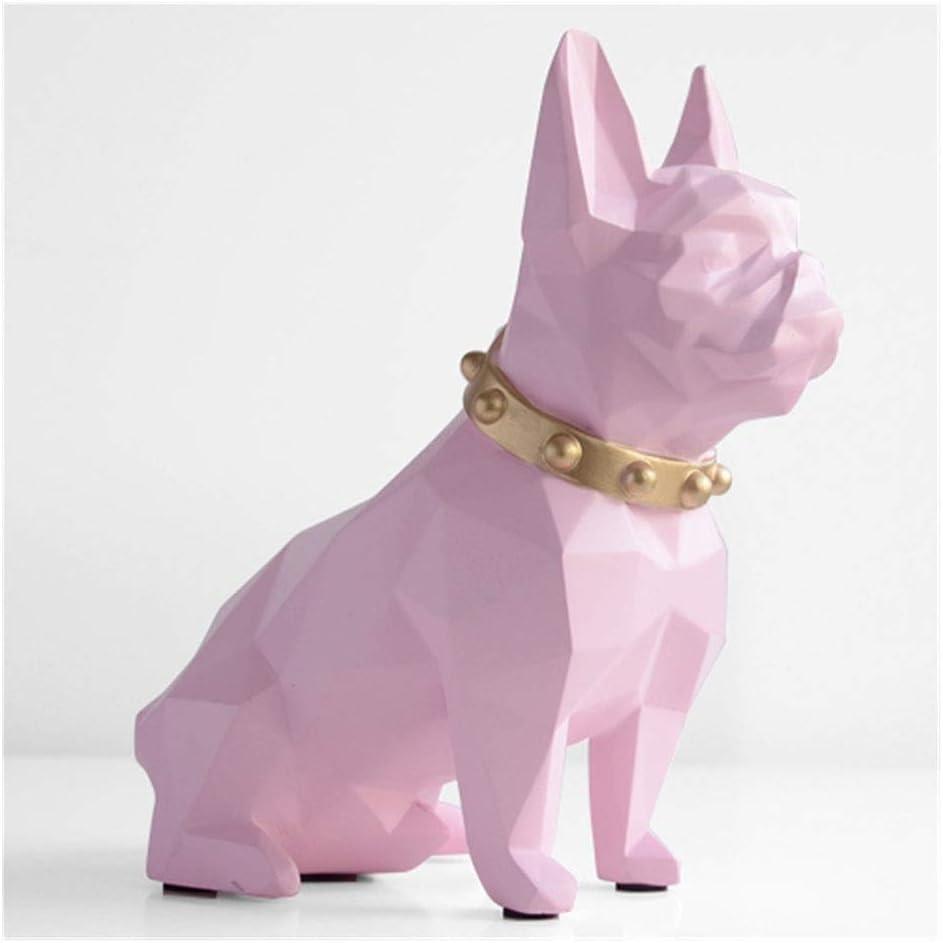 WKK-PB Bulldog Coin quality assurance Bank Box Piggy Figurine Max 48% OFF Home Decoration