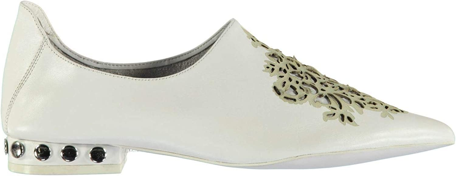 Jeffrey Campbell Cersei Stud shoes Womens White Athleisure Trainers Sneakers