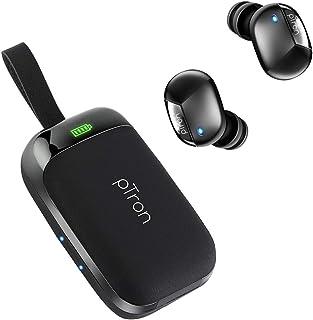 pTron Bassbuds Urban in-Ear True Wireless Stereo Bluetooth Headphones (TWS) with Mic - (Black)